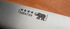 Sabatier logo closeup