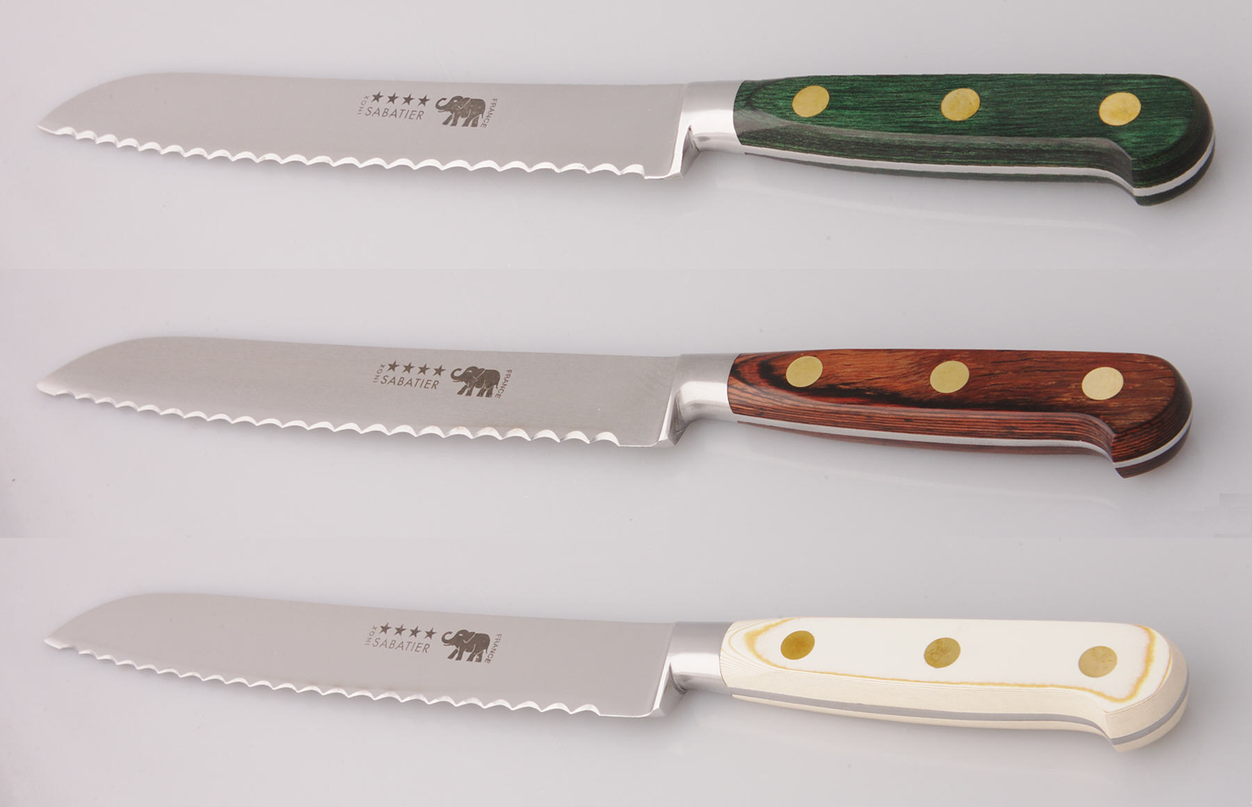 8 In 20 Cm Bread Knife With Color Choice Great French