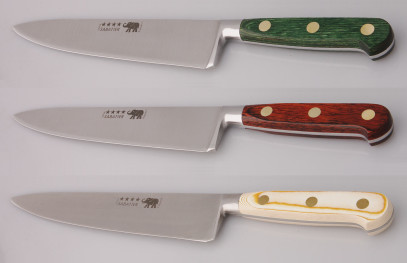 Thiers-Issard Four-Star Elephant Sabatier Knives 8 in chef knife
