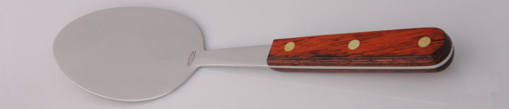 Thiers-Issard Four-Star Elephant Sabatier Tools spatula oval - red stamina