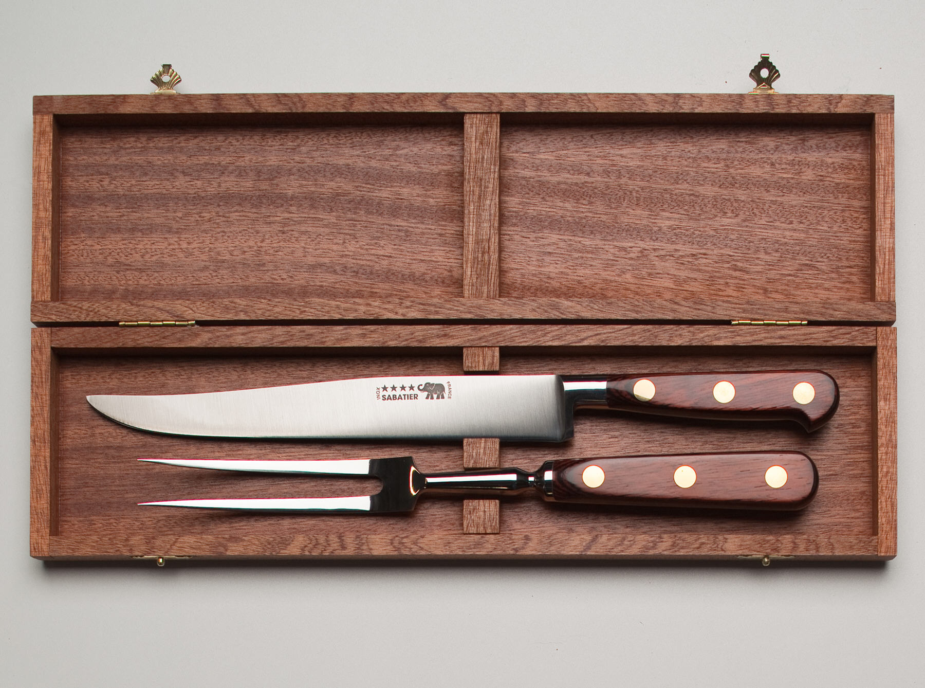 Standard carving knife set color choice great french