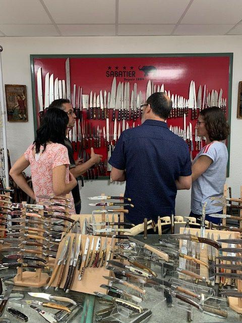 Sabatier knife showroom